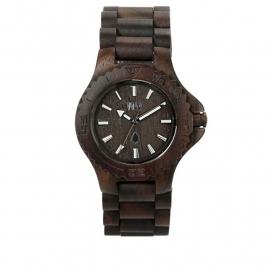 WeWood horloge `Date chocolate`