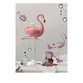 By On poster Flamingo