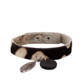 Tante Taat safari-armband Geit met bedel