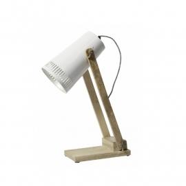 Retro tafellamp 'Meester René'