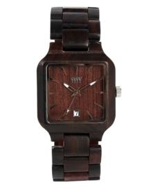 WeWood horloge `Metis chocolate`