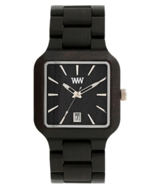 WeWood horloge 'Metis black'