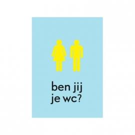 Uitgeverij Loopvis Ben jij je wc?
