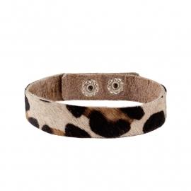 Tante Taat safari-armband Panter (groot)
