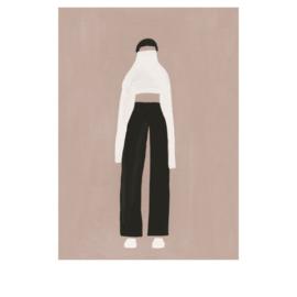 Megan Galante artwork poster Minimalism