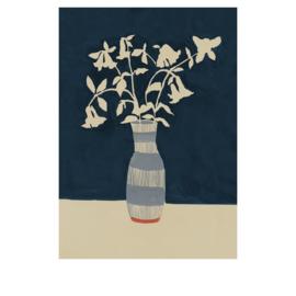 Megan Galante artwork poster Limoges Floral