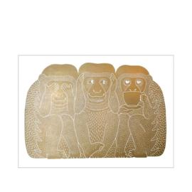Monika Petersen 3 Monkeys Gold