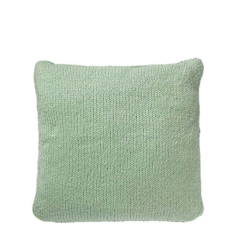 Bloomingville kussen mint/ grijs