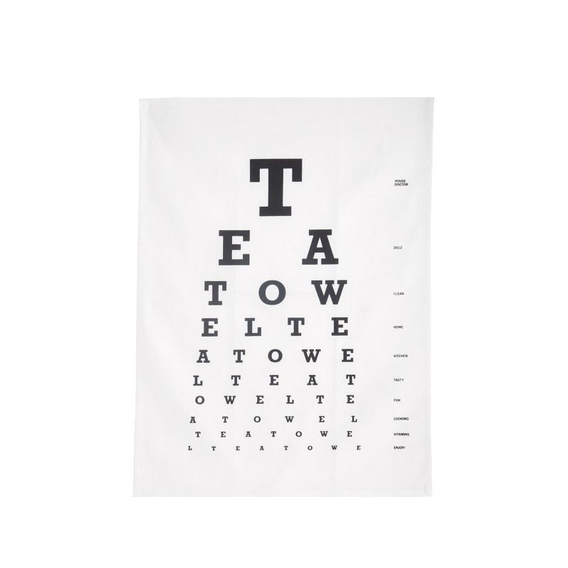 House Doctor theedoek Eye Test