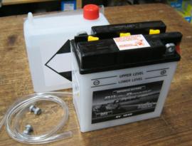 6N11A-1B , 6 volt , 11AH lood accu