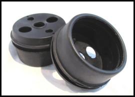 Kilometerteller houder rubber BSA/Triumph , per stuk.