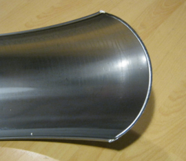 Hardttail 180 mm  spatbord in staal ! RFS1801000