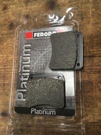 Set Ferodo remblokken  FDB342P  .   Voor Triumph