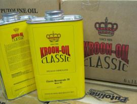 Kroon SAE50 olie in blik , 1 liter