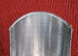 Softtail achterspatbord , 180 mm en 125 cm lang. RFA1801250 PKW