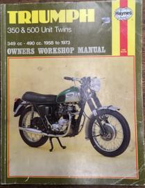Haynes Triumph 350/500 twins , 1958/1973