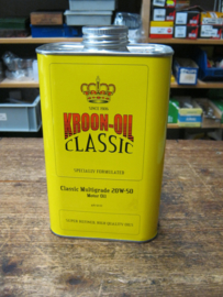 Kroon Classic 20W50 ,  1 liter blik.
