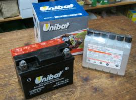 Unibat CBTX4-BS , 12 volt , 3Ah.