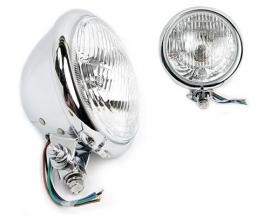 """Bates"" koplamp 5 3/4inch chroom"