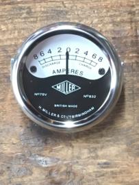 Miller replica ampère meter , ondiepe type , 2 inch