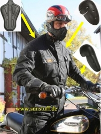 Sunstuff six days pro . ECE protector type , zwart