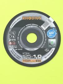 RHODIUS doorslijpschijf voor aluminium . Rhodius XT24