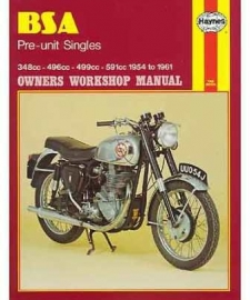 BSA Pre-unit Singles , Haynes