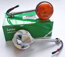 Lucas knipperlicht met lange steel. per stuk !