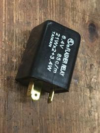 Knipperlicht automaat 6 volt digitaal.