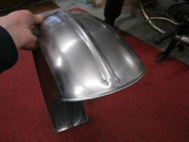 160 mm hardtail achterspatbord met rib,