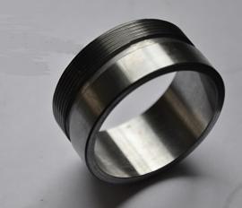 Lasflens voor Monza dop , 2 inch of 2 1/2 inch , staal.