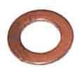 Koperen ring voor de rockerbox olieleiding , 70-1335