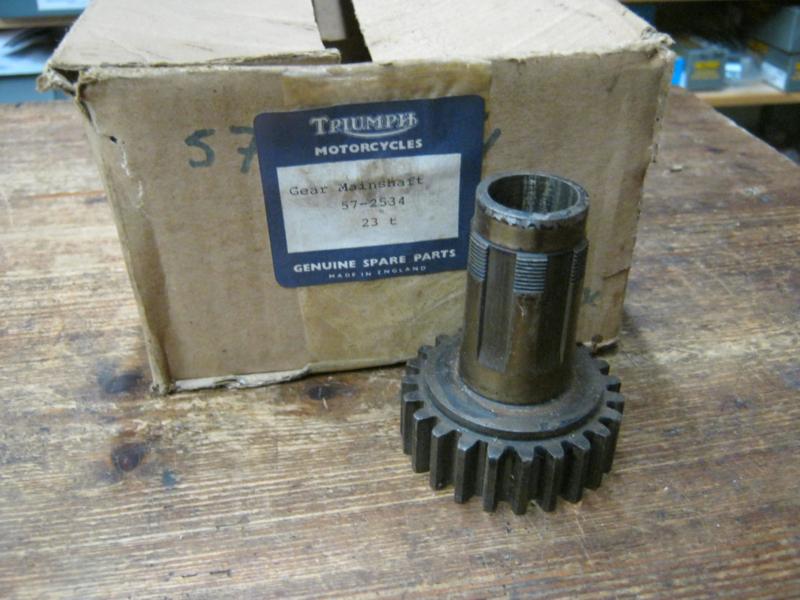Triumph mainshaft T-2534 , 57-2534