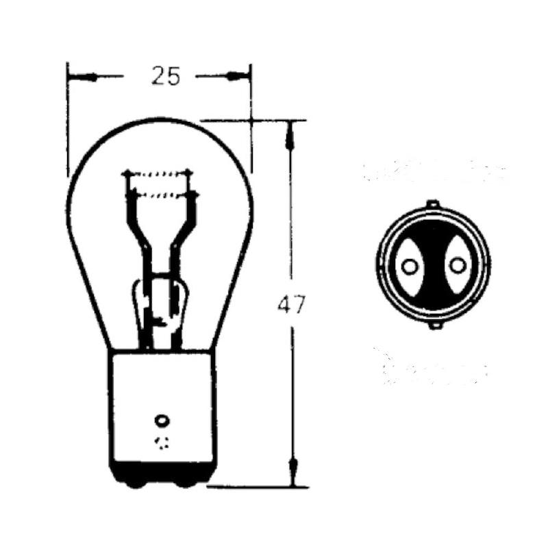Lamp BA15D