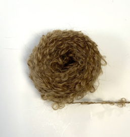 Wild Large Loop Mohair Yarn - Light Brown - 30 gram