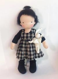 Shinju - a 16''/42 cm tall Handmade Waldorf Doll