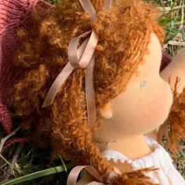 Simone - a 14''/35 cm tall Handmade Waldorf Doll