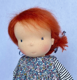 Lux - a 16''/42 cm tall Handmade Waldorf Doll