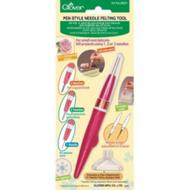Clover pen/holder for 1, 2 or 3  felt needles - fine