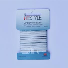 Lingerie elastic 6 meters - 3 mm. width