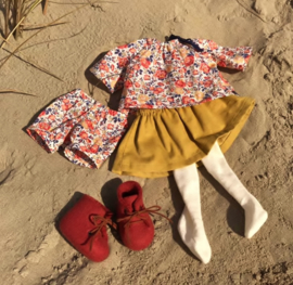 """Clothingset Lindy - for 16""""/42 cm tall doll"""