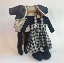 """Clothingset Shinju - for 16""""/42 cm tall doll"""