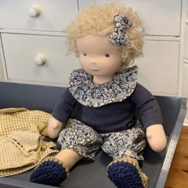 Tasha - a 14''/36 cm tall Handmade Waldorf Doll
