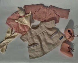 """Clothingset Eden - for 16""""/42 cm tall doll"""