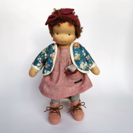 Levi - a 16''/42 cm tall Handmade Waldorf Doll