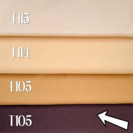 Poppen tricot/interlock - bruin - 25 cm - De Witte Engel
