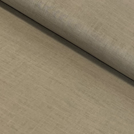 Organic Cotton Voile - Taupe