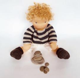 Wild Small Loop Mohair Yarn - Straw Blonde - 40 grams