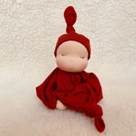 Zen Knoopje - fair skin/warm rust red