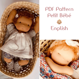 PDF pattern and tutorial Petit Bébé (English)